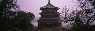 High Section View of a Palace, Summer Palace, Beijing, China Photographic Print by  Panoramic Images