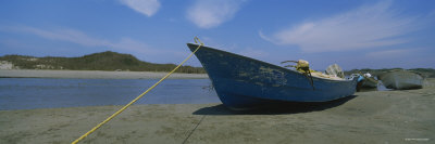 Fishing Boats on the Beach, Mexico Photographic Print by  Panoramic Images