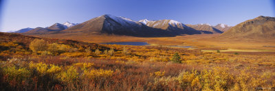 Hills on a Landscape, Yukon, Canada Photographic Print by  Panoramic Images
