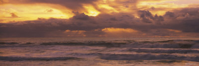 Clouds over the Ocean, Pacific Ocean, California, USA Photographic Print by  Panoramic Images