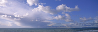 Clouds over Water, Montara, Pacific Ocean, California, USA Photographic Print by  Panoramic Images