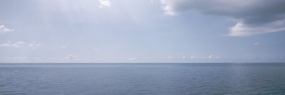 Clouds over the Sea, Atlantic Ocean, Bermuda, USA Photographic Print by  Panoramic Images