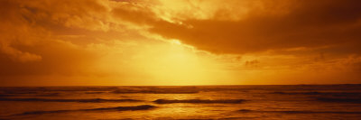 Ocean at Dusk, Pacific Ocean, California, USA Photographic Print by  Panoramic Images