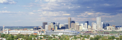 Invesco Stadium, Denver, Colorado, USA Fotografie-Druck