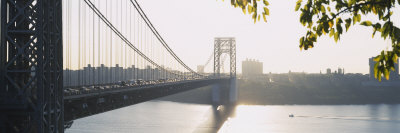 Bridge Across the River, George Washington Bridge, New York, USA Photographic Print by  Panoramic Images