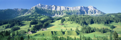 Farmland, Emmental, Switzerland Photographic Print