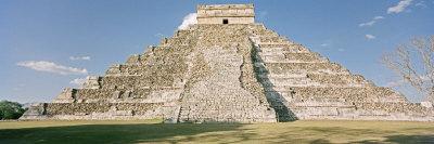 El Castillo Pyramid, Chichen Itza, Yucatan, Mexico Photographic Print by  Panoramic Images