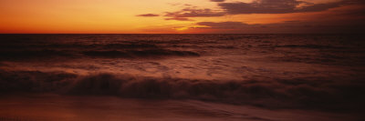 Sunrise over the Sea Photographic Print by  Panoramic Images