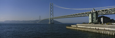Akashi-Kaikyo Bridge, Awaji-Shima, Japan Photographic Print by  Panoramic Images