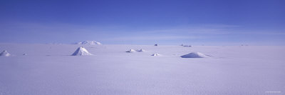 Hills on a Polar Landscape, Mt. Snaefell, Bruarjokull, Central Highlands, Iceland Photographic Print by  Panoramic Images