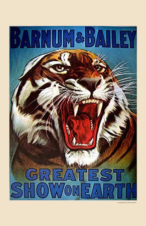 Barnum & Bailey, 1916 Poster