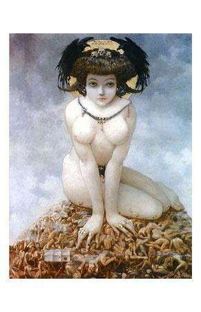 elle  1905 art print