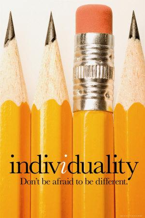 Individualismo Póster