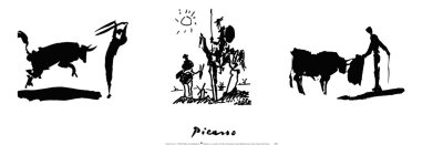 Picasso Trilogy Art Print
