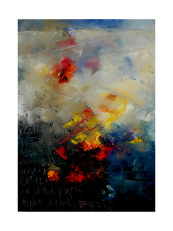 Abstract 0805 Giclee Print by  Ledent
