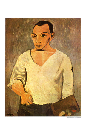 Picasso Self Portrait, 1906