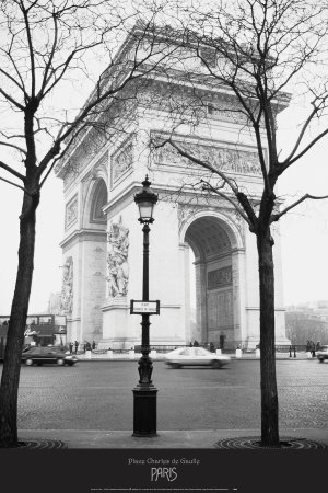 Place Charles de Gaulle Poster by Ladislav Janicek