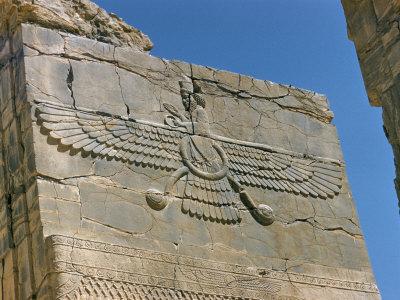 Ahura Mazda, Supreme God in Zoroastrianism, Persepolis, Unesco ...