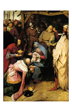 Adoration of the Kings, c.1564 Lámina