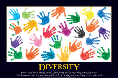 Diversity Prints by Jennifer