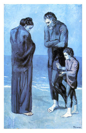 Les Pauvres au Bord de la Mer, c.1903 Kunstdruck