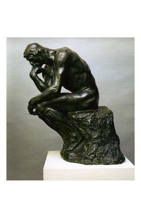 The Thinker Art Print