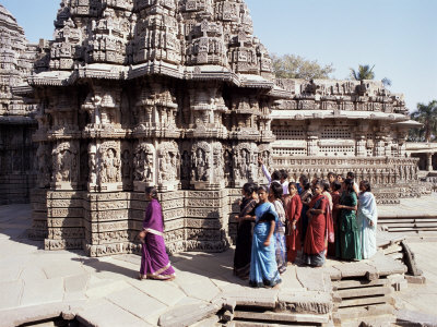 Keshava Temple Dedicated to Vishnu, Somnathpur, India Photographic Print by Richard Ashworth