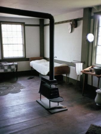 Bedroom Interior, Hancock Shaker Village, New England, United Staes of America Photographic Print by Humphrey Burton