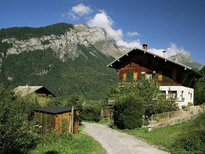 Sixt Fer a Cheval, Haute Savoie, Rhone Alpes, France Photographic Print by Michael Busselle