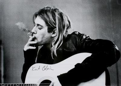 Kurt Cobain Lámina