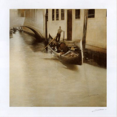 In Gondola Prints by Antonio Sgarbossa