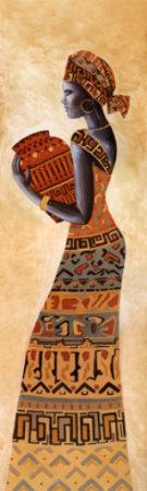 Black Sister II Prints by  Amadou
