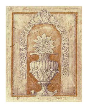 Decorative Urn II Prints by Alexandra Bex