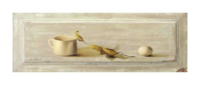 Cup and Egg Prints by Grau Verger