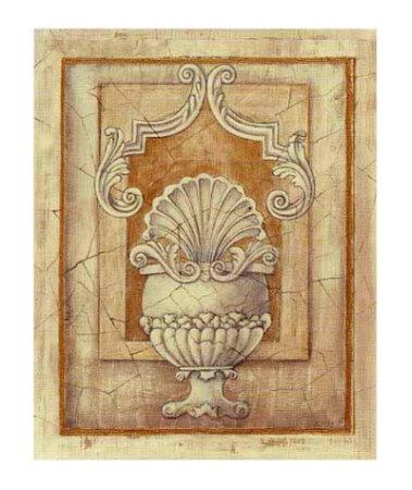 Decorative Urn I Posters by Alexandra Bex