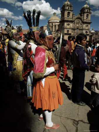 Inti Rayma Festival, Cuzco, Peru, South America Photographic Print by Rob Cousins