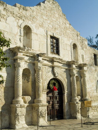 The Alamo, San Antonio, Texas, USA Photographic Print by Ethel Davies
