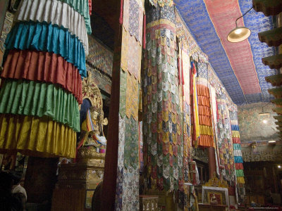 Main Prayer Hall, Samye Monastery, Tibet, China Photographic Print