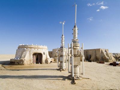Star Wars Set, Chott El Gharsa, Tunisia, North Africa, Africa Photographic Print by Ethel Davies
