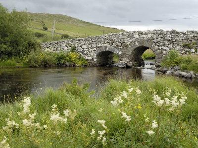 Quiet Man Bridge, Near Maam Cross, Connemara, County Galway, Connacht, Republic of Ireland Photographic Print by Gary Cook