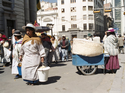 Independence Day Parade, La Paz, Bolivia, South America Photographic Print by Mark Chivers