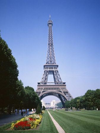 The Eiffel Tower, Paris, France Photographic Print by Robert Harding