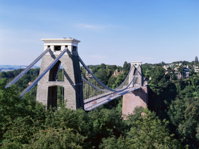 Clifton Suspension Bridge, Bristol, Avon, England, United Kingdom Photographic Print by Chris Nicholson