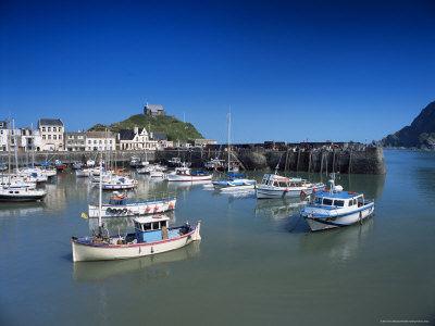 Harbour, Ilfracombe, North Devon, England, United Kingdom Photographic Print by Chris Nicholson