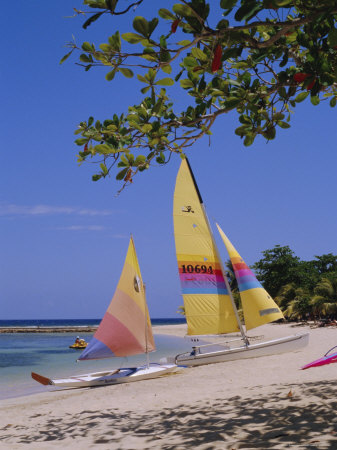 Half Moon Club Beach, Montego Bay, Jamaica, Caribbean, West Indies Photographic Print by Robert Harding