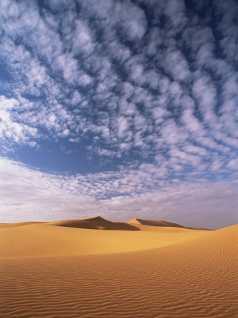 Sand Dunes in Erg Chebbi Sand Sea, Sahara Desert, Near Merzouga, Morocco, North Africa, Africa Photographic Print by Lee Frost