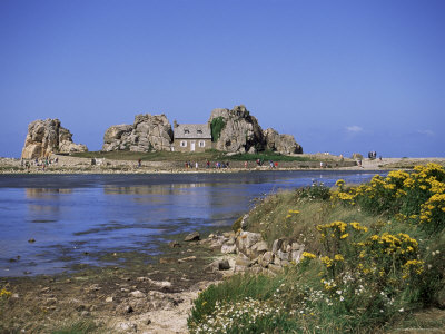 Pors Bugalez, Brittany, France Photographic Print by J Lightfoot