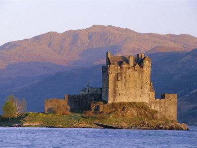 Eilean Donan Ieilean Donnan) Castle Built in 1230, Dornie, Scotland Photographic Print by Lousie Murray