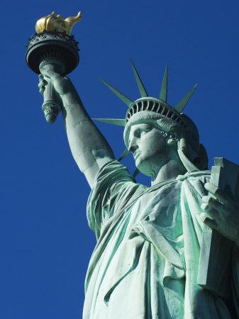 Statue of Liberty, Liberty Island, New York City, New York, USA Photographic Print by Amanda Hall
