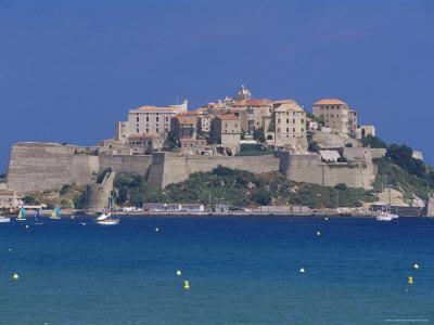 The Citadel, Calvi, Corsica, France, Mediterranean Photographic Print by John Miller